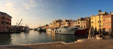 Fisherboats в Chioggia Стоковые Фото