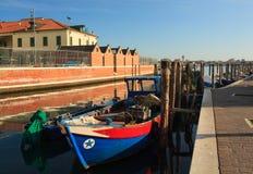 Fisherboats, Chioggia Стоковая Фотография