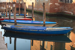 Fisherboats, Chioggia Стоковые Изображения