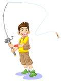 fisherboy Στοκ Εικόνες