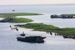 Fisherfolk Stock Photo