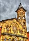 Fishergate施洗约翰教堂,普雷斯顿 库存图片