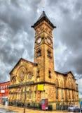Fishergate施洗约翰教堂,普雷斯顿 图库摄影