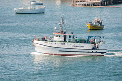 Fisheries research vessel Stock Image
