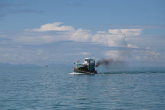 Fishering Boat in andaman sea of Thailand Royalty Free Stock Photography