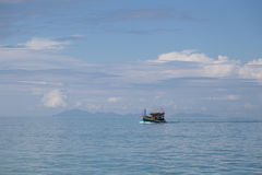 Fishering Boat in andaman sea of Thailand Stock Photography