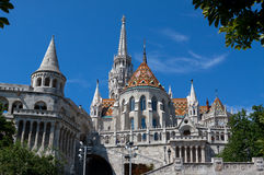 Fisherman´s Bastion in Budapest. Stock Photo