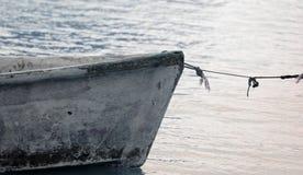 FishermanÂs Boot Stockbild