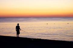 Fisherman Royalty Free Stock Image