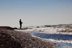 The fisherman Royalty Free Stock Photo