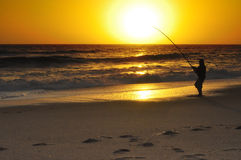 The fisherman Royalty Free Stock Image