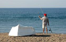 Fisherman. In Turkey Royalty Free Stock Photo