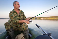 The fisherman Royalty Free Stock Photography