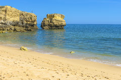 Fisherman in Albufeira, Portugal Royalty Free Stock Photography