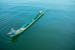 Hout Bay, Riverside County - California, Thailand, Fisherman royalty free stock photography