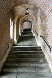 Fisherman bastion. Stairs, Budapest, Hungary royalty free stock photo