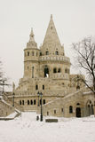 Fisherman bastion. Stairs, Budapest, Hungary royalty free stock photos
