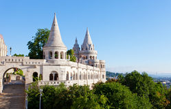 Fisherman Bastion on the Buda Castle hill Stock Photography