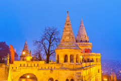 Fisherman Bastion in Budapest Royalty Free Stock Image