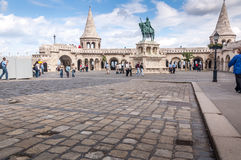 Fisherman bastion, Budapest Stock Image
