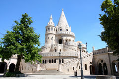 Fisherman Bastion in Budapest, Hungary Royalty Free Stock Photo