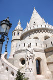 Fisherman Bastion in Budapest, Hungary Royalty Free Stock Images
