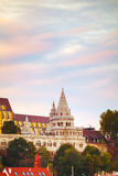 Fisherman bastion in Budapest, Hungary Stock Photos