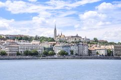 Fisherman Bastion in Budapest, Hungary royalty free stock photography