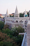 Fisherman bastion, Budapest, Hungary Stock Images