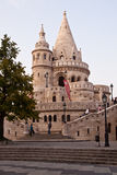 Fisherman bastion, Budapest, Hungary Royalty Free Stock Photos