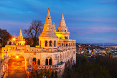 Fisherman bastion in Budapest, Hungary Stock Image