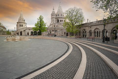 Fisherman bastion in Budapest, Hungary Royalty Free Stock Image