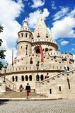 Fisherman bastion budapest Royalty Free Stock Image