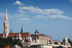 Fisherman bastion landmark Budapest Stock Photos