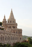 Fisherman bastion towers Budapest Royalty Free Stock Images