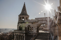 Fisherman Bastion Royalty Free Stock Photos