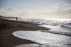 Fisherman beach stock images