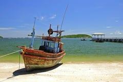 Fisherman Boat Royalty Free Stock Image