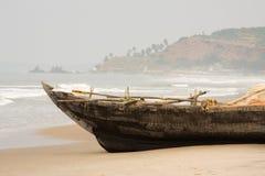 Fisherman boat Stock Images