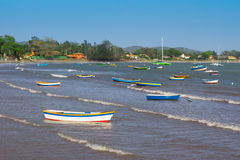 Fisherman Boat in Buzios Royalty Free Stock Image