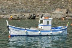 Fisherman boat, Cinque Terre, Italy Royalty Free Stock Photo