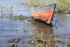 Fisherman boat at Concepcion Beach,Ometepe Island Royalty Free Stock Image