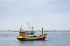 Fisherman boat Stock Photography