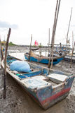 Fisherman Boat. At Old Jetty Kuala Kedah, Malaysia Stock Image