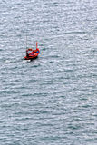 Fisherman Boat sailing in the Sea Royalty Free Stock Photography