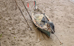 Fisherman boat Stock Photo