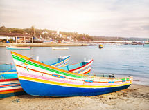 Free Fisherman Boats Royalty Free Stock Photography - 32888667