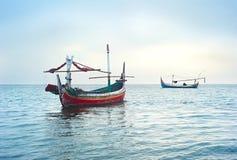 Fisherman boats, Indonesia Royalty Free Stock Photo