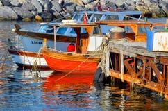 Fisherman boats Stock Photos