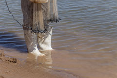 Fisherman boots Stock Images